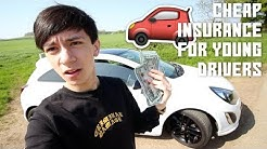 HOW TO GET CHEAP INSURANCE FOR NEW YOUNG DRIVERS UK 2018!!! 😱