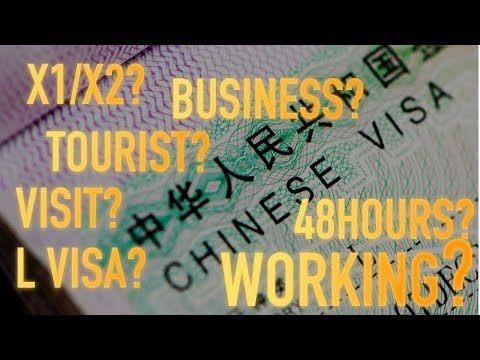 Which CHINESE VISA Should I Get? | China VISA Guide 2019