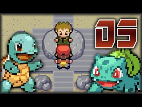 Guía Pokémon Rojo Fuego & Verde Hoja - Capítulo 3 | Vs. 1er Líder Brock / Bulbasaur y Squirtle!