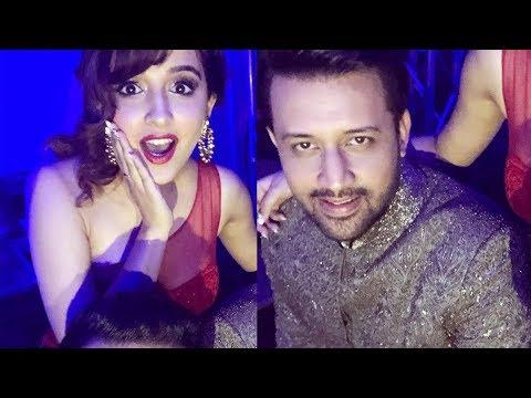 Shirley Setia  & Atif Aslam shooting for a romantic song
