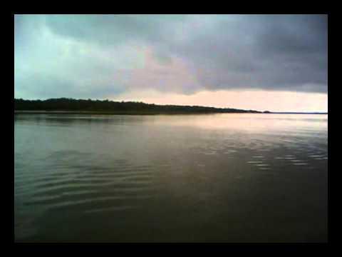 travelling on boat across godavari.wmv