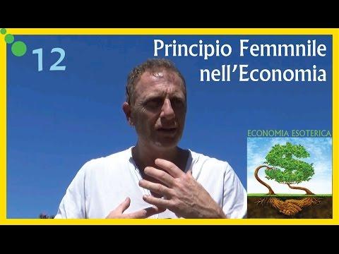 Il Principio Femminile nell'Economia  -  Economia Esoterica