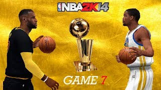 NBA 2K14 PC 2017 Finals Updated Rosters │Cavaliers vs Warriors│Game 7│ ESPN MOD HD