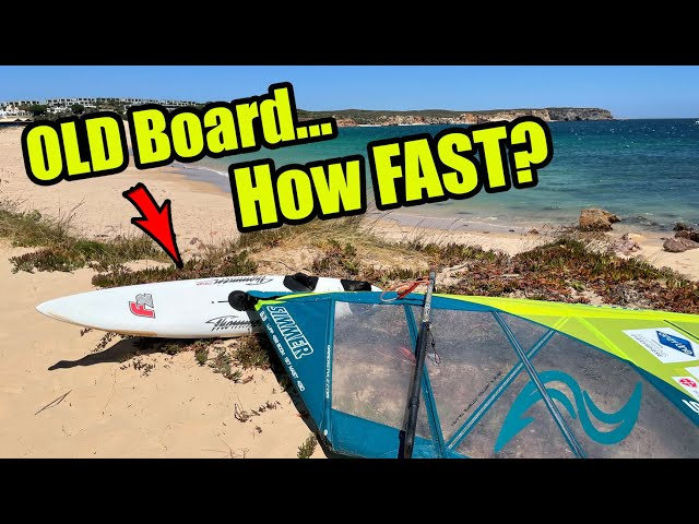 Speed RUN - 20+ year old Windsurfing board