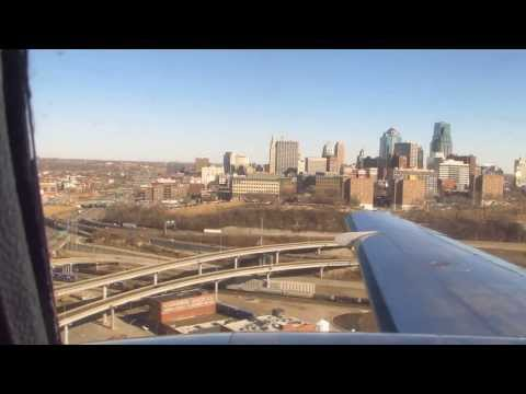 Landing at Kansas City's Downtown Airport