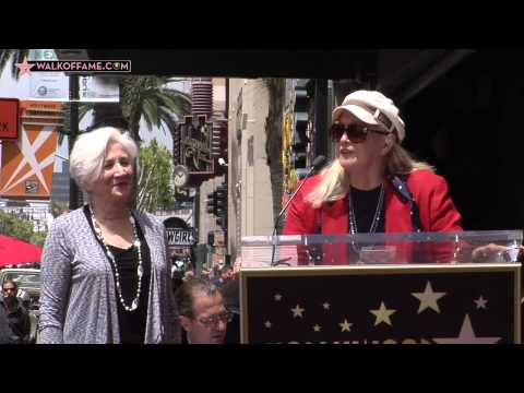 OLYMPIA DUKAKIS HONORED WITH HOLLYWOOD WALK OF FAME STAR