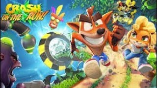 Crash Bandicoot on the run dron hormiga nitro, cangrejo nitro y escorpgorila me atacan