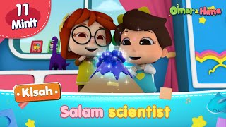 Omar & Hana | Salam Scientist | Islamic Cartoons for kids