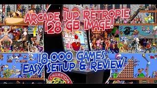 Download Arcade1UP Ready RetroPie Image, Wolfanoz Arcade