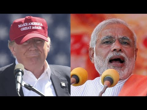 Indian PM Modi Was Once Banned from Entering U.S., Today He Meets Trump at White House