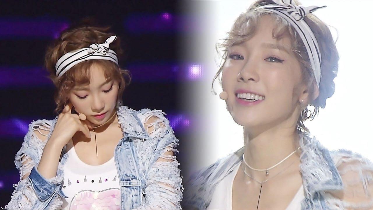 《Comeback Special》 TAEYEON (태연) – Why @인기가요 Inkigayo 20160703