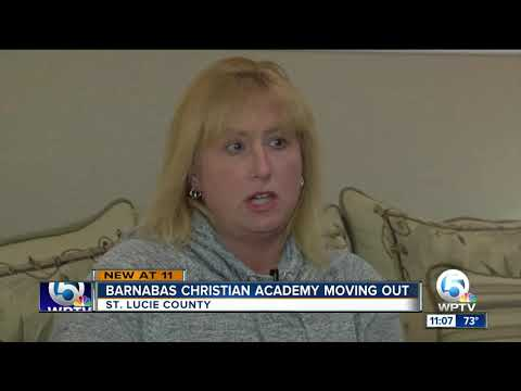 Barnabas Christian Academy, formerly The Nation, closes Port St. Lucie location at last minute