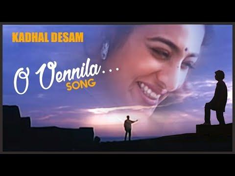 Kadhal Desam Tamil Movie Songs | O Vennila Video Song | Vineeth | Abbas | Tabu | AR Rahman