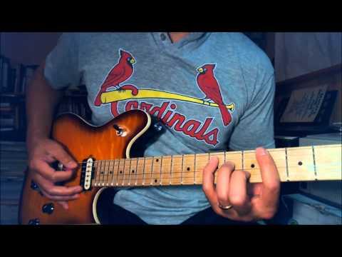 Van Halen - 5150 - Intro guitar lesson