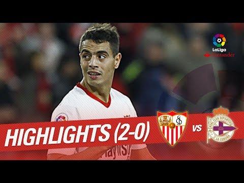 Resumen de Sevilla FC vs RC Deportivo (2-0)