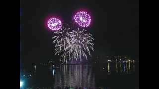 Фестиваль фейерверков 2012 - Пиромагия(Кострома)