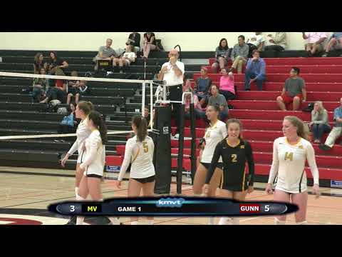 Mountain View Spartans vs Gunn Titans - Volleyball, October 17, 2017