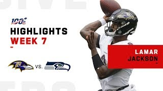 Lamar Jackson Rushes for 100+ Yds & 1 TD! | NFL 2019 Highlights