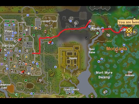 Runescape World Map 07.How To Get To Canifis Runescape 2007 Fast And Easy Ghost Ahoy