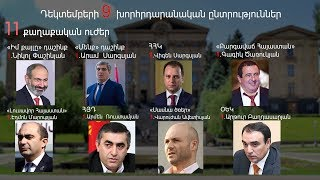 ԼՈՒՐԵՐ 10:00 | Ընտրություններին մասնակցելու հայտ է ներկայացրել 11 քաղաքական ուժ