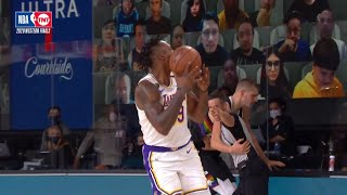 Dwight Howard gets a tech after tossing the ball into the air | Game 3 | Nuggets vs Lakers