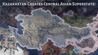 Kazakhstan Creates Central Asian Superstate! (Hoi4 Timelapse/Speedrun)