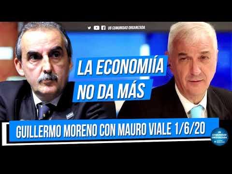 Guillermo Moreno con Mauro Viale -  Radio Rivadavia 1/6/20