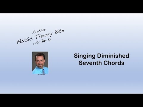 Singing Diminished Seventh Chords - YouTube