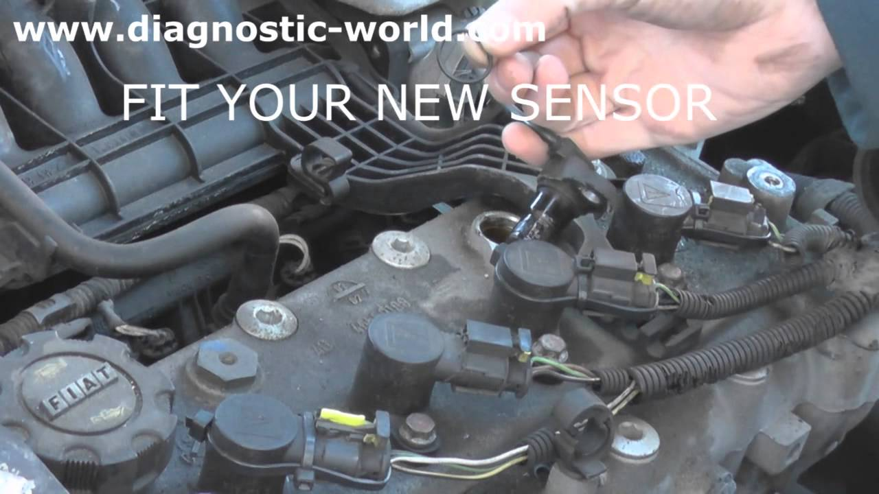fiat camshaft sensor removal  u0026 replacement guide