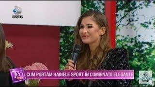 Teo Show (24.01.2020) - Cum purtam hainele sport in combinatii elegante |
