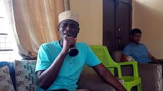 Mpenzi wa mtume (saw) Mohammad muhiya.. Alipomtembelea mlezi wake shk atiq rashid. 4/10/18