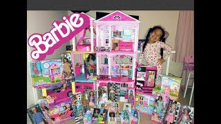 UNBOXING Barbies!!! *Barbie Dream House TOUR* Play WITH BARBIE Chelsea & Friends!!!