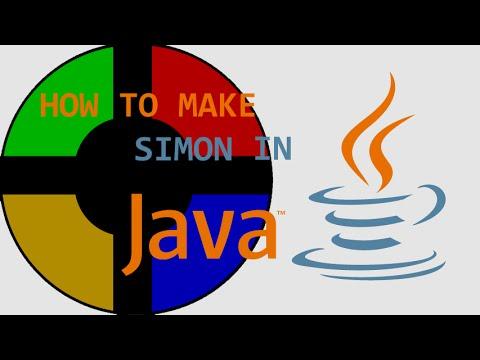 Programming Simon in Java! (Full Tutorial)