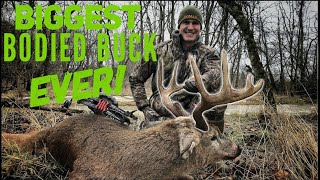 "Josh Bowhunts ""Bodacious"" His BIGGEST Bodied Buck EVER 