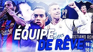 FIFA 18 - EQUIPE DE RÊVE AVEC RONALDO ET MESSI TOTY !