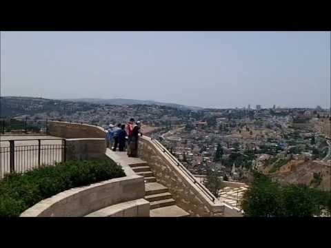 Mount of Olives and the Golden Gate Jerusalem