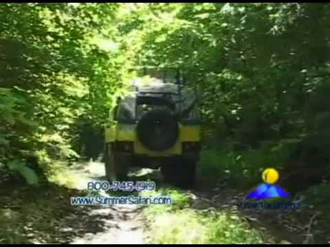 Alpine Adventures Off-Road Safari Video - Pinzgauer