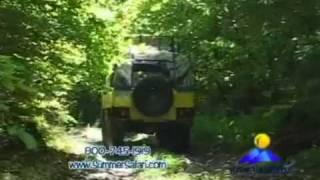 Alpine Adventures Off-Road Safari Video - Pinzgauer