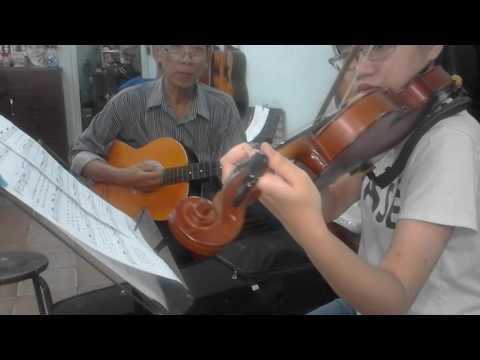 hoa tau guitar violin  ben thuong hai