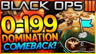 "BLACK OPS 3 - ""0-199 DOMINATION COMEBACK WIN!"" - Team Challenge #45! (BEST CLUTCH WIN EVER IN BO3)"
