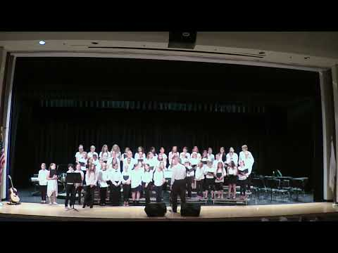 The Westerly Middle School Chorus Performing RISE UP.