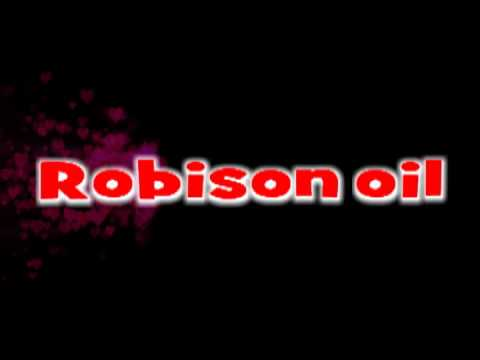 ROBISON OIL commercial. Karaoke version  no voc. Produced by Rigo Muic video productions