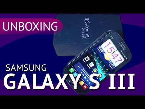 Распаковка Samsung Galaxy S3 + Flip Case