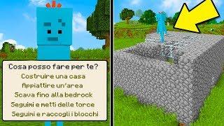 Minecraft ITA - L'assistente che LAVORA al posto TUO!