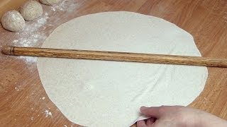 Lavash Recipe | Turkish Thin FlatBread Recipe
