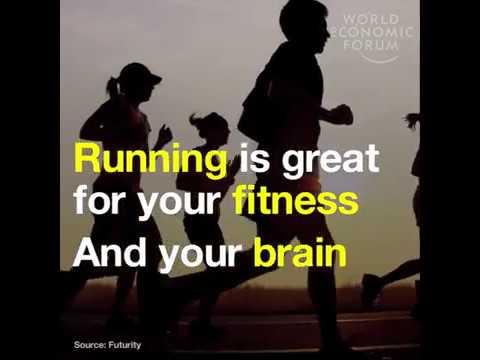 Run to boost your brain