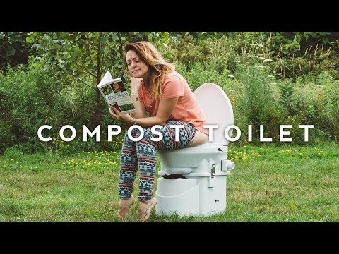 TINY HOUSE Composting Toilet - How We Pee & Poop
