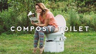 TINY HOUSE Composting Toilet - How We Pee & Poop