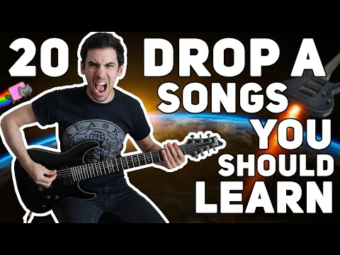 20 DROP A SONGS YOU SHOULD LEARN!