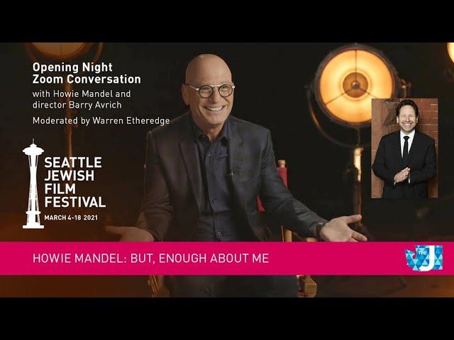 SJFF 2021 Filmmaker Conversation with Howie Mandel